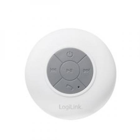 LogiLink Bluetooth shower speaker White SP0052W